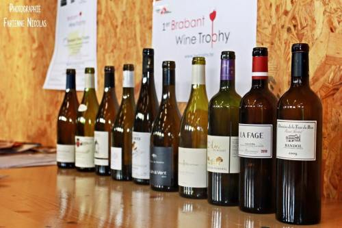 Les 10 vins du concours Brabant Wine Trophy 2016