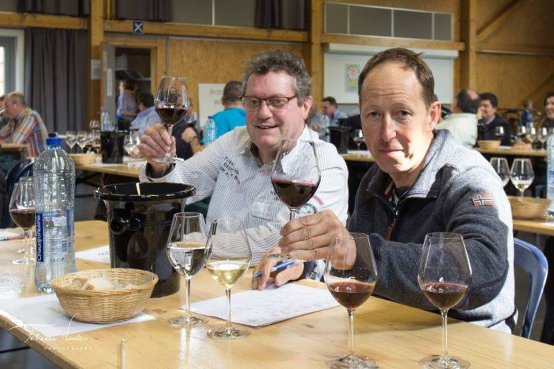 Brabant Wine Trophy 2017 - Robert Rouelle & Olivier George