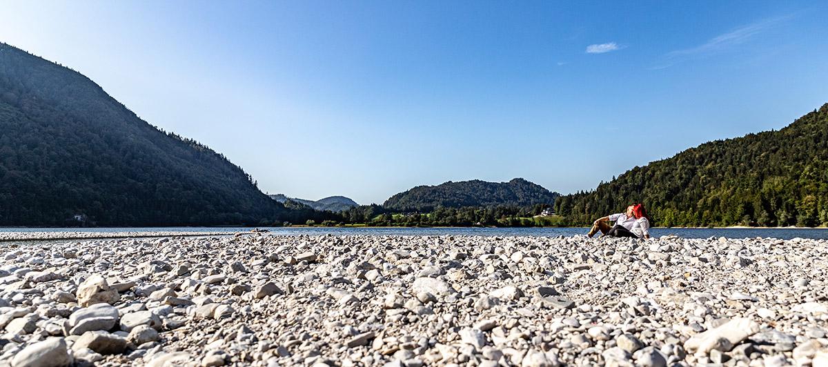 am Ufer des Hintersee
