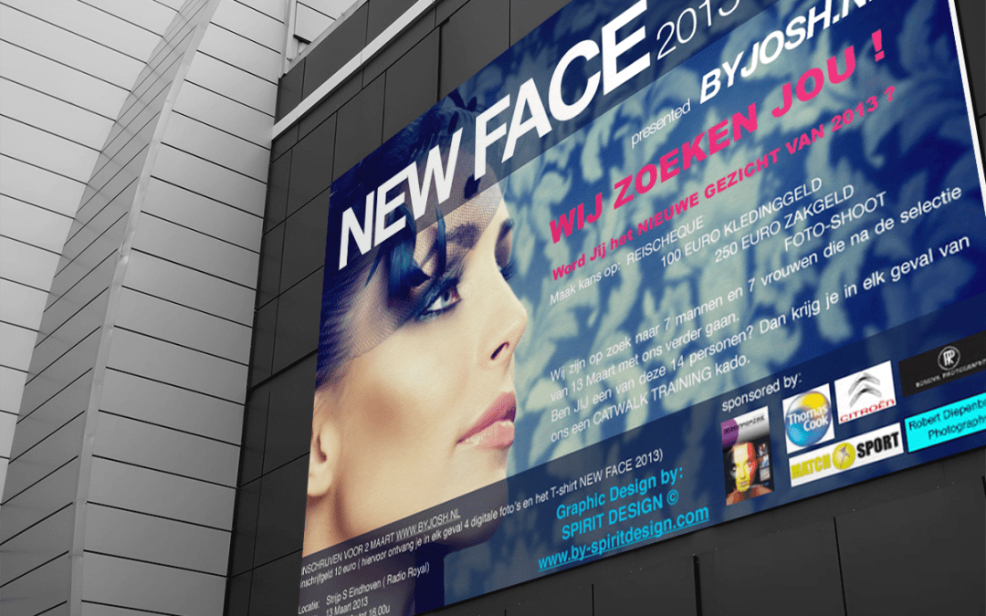 Poster New Face 2013