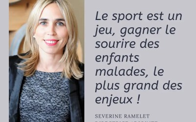 Interview de Séverine, directrice adjointe de l'association 1 Maillot pour la vie