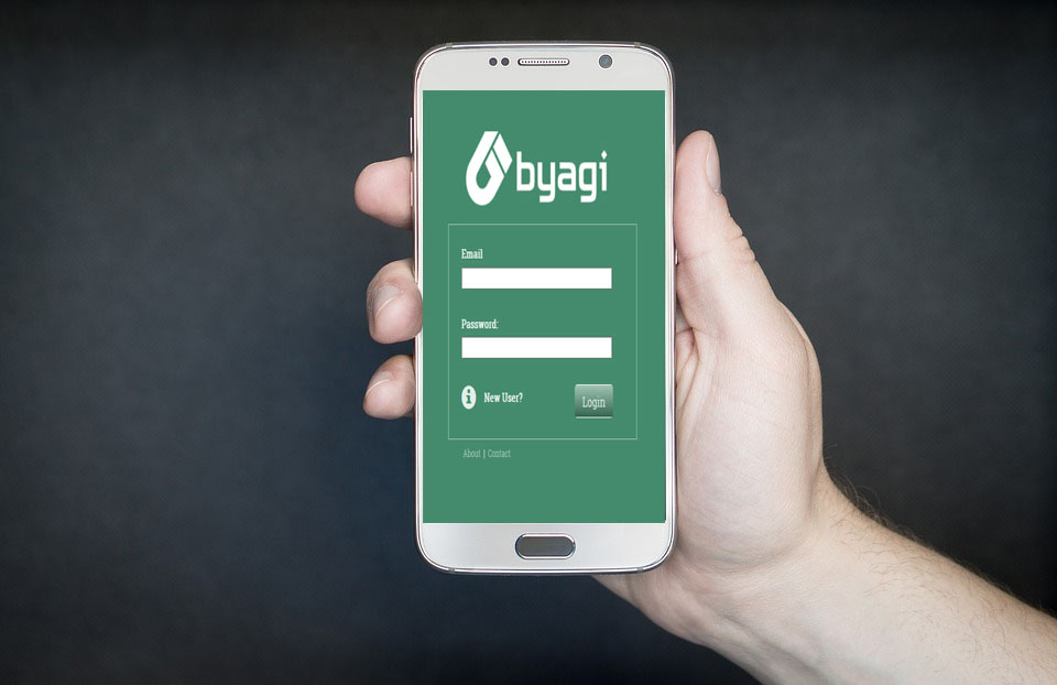 Byagi web & mobile apps