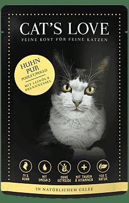 Catslove Katzenfutter Nass Adult Huhn 11.51.56