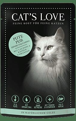 Catslove Katzenfutter Nass Adult Pute