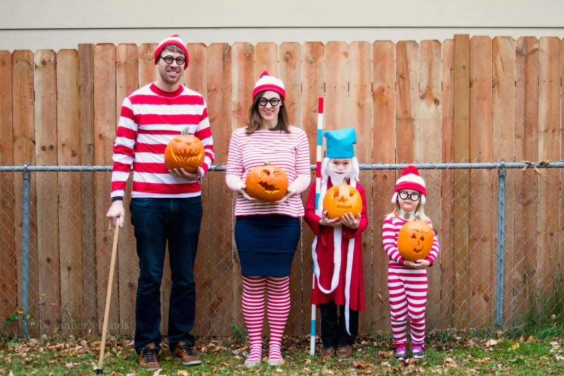 Where's Waldo Costumes -by amber's hands-