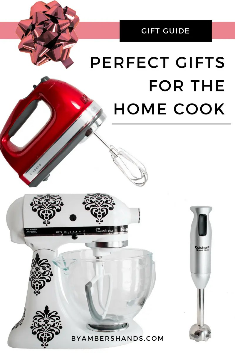 Gift guide for the home cook -by amber's hands-