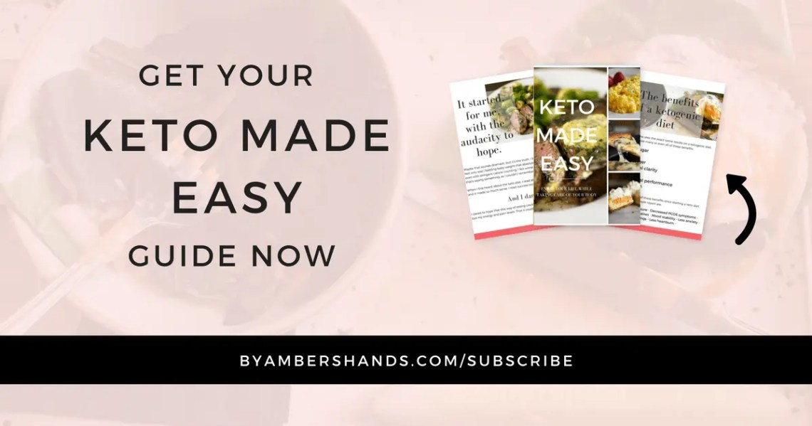 Sign up for Keto Made Easy