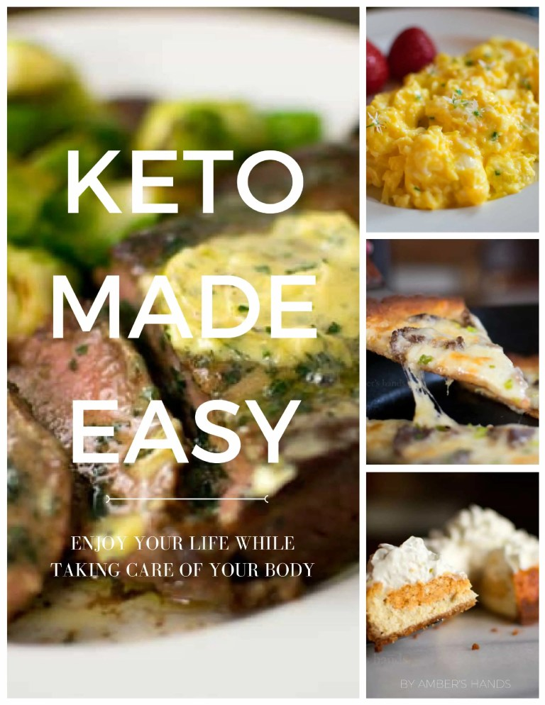 Keto Made Easy Guide -by amber's hands-