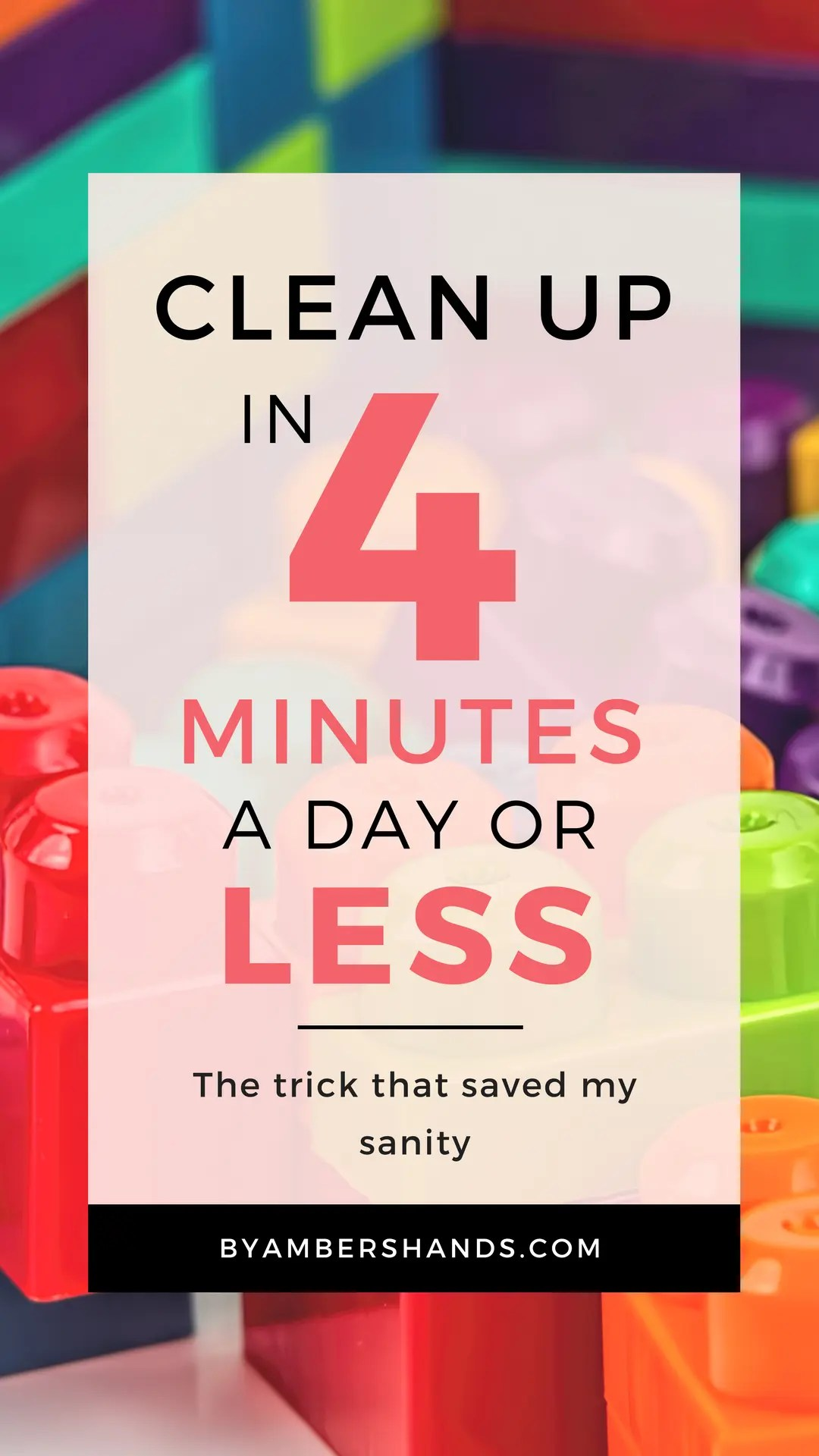 Life Changing Cleanup Hack -by amber's hands-