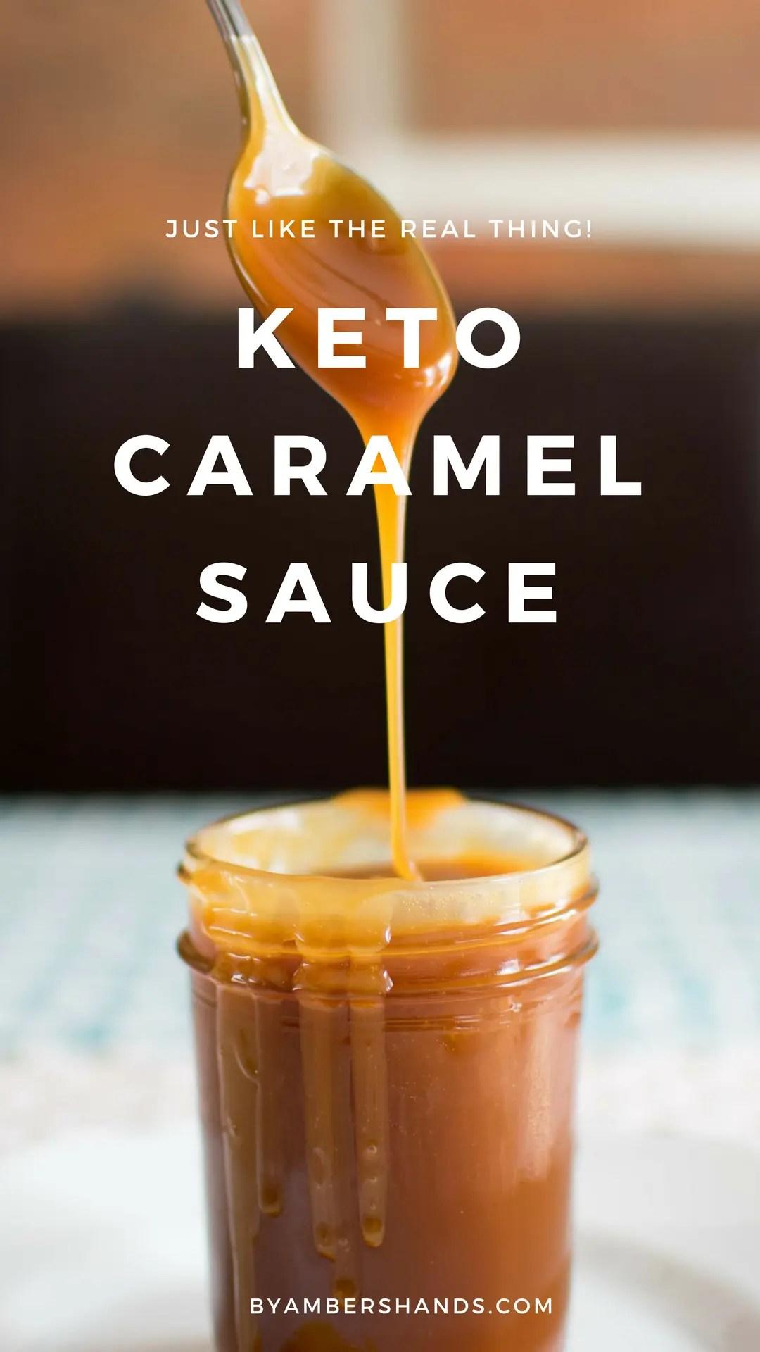 Keto Salted Caramel Sauce