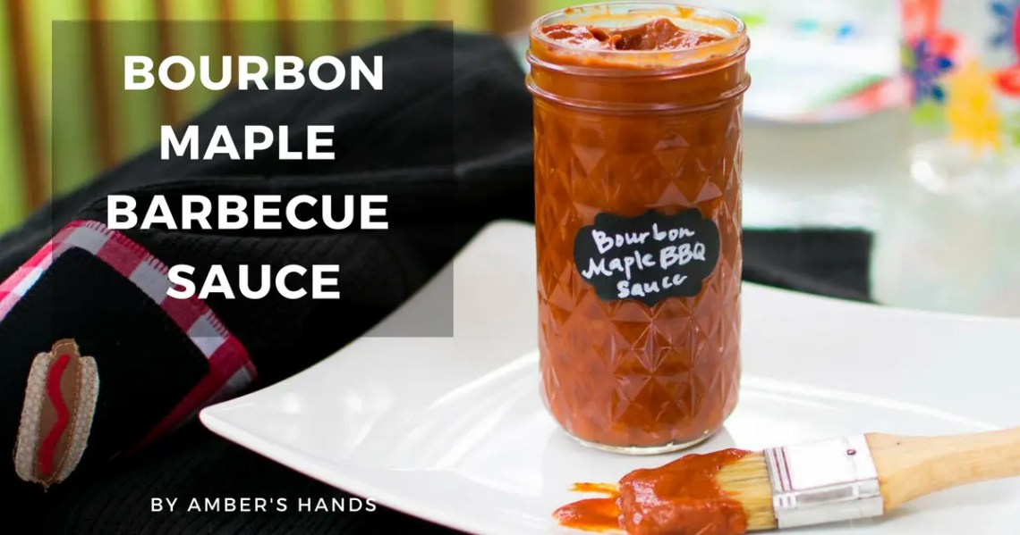 Bourbon Maple Keto BBQ Sauce -by amber's hands-
