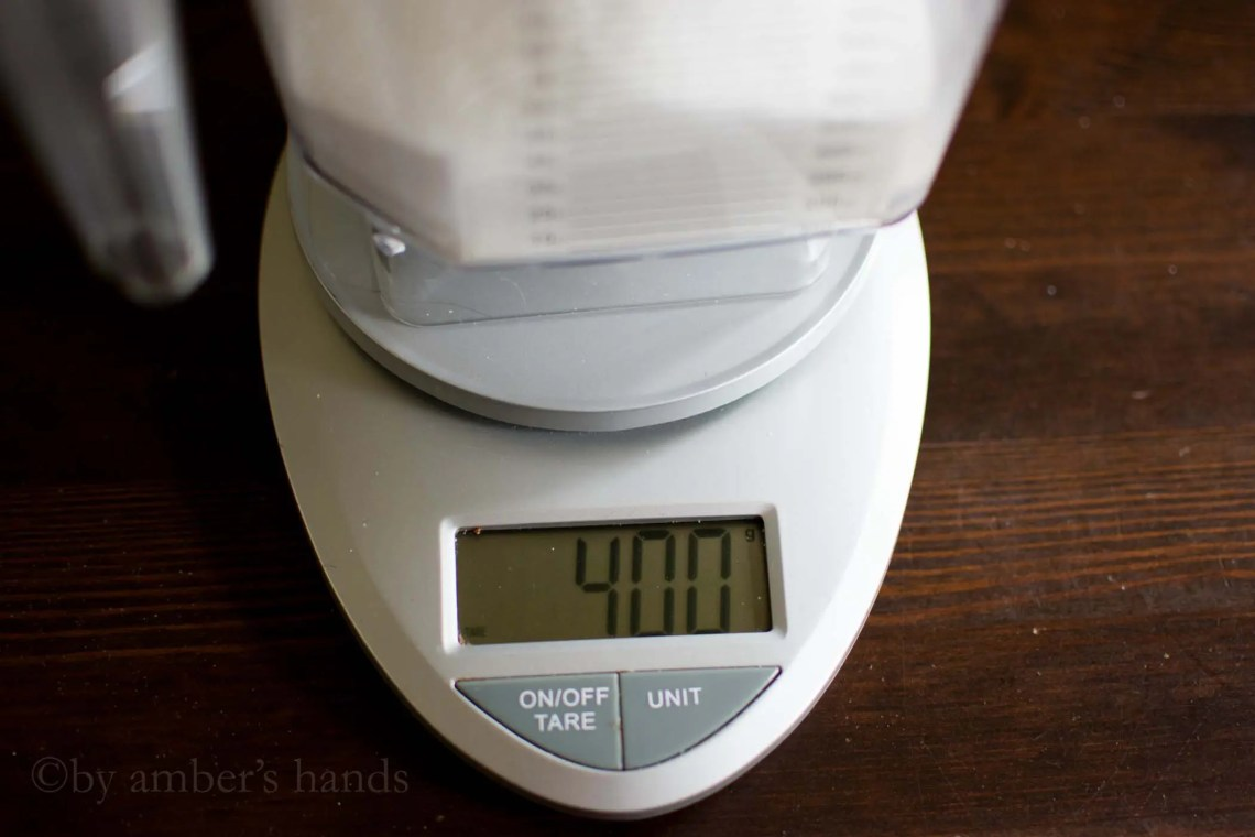 400 grams erythritol