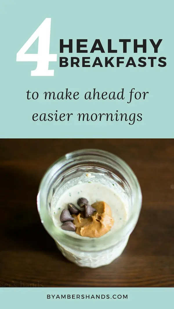 Mornings can be hectic, especially if you have kids! Do yourself a favor and make these healthy breakfasts ahead of time and take some stress out of your mornings! #lowcarb #healthy #keto #kids #makeahead
