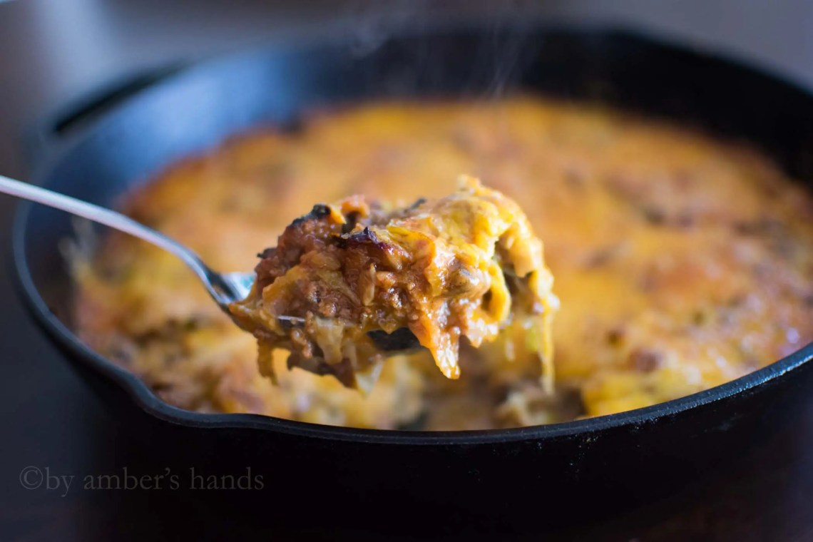 Cheesy Beef Skillet -by amber's hands-