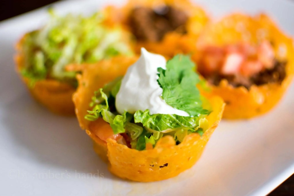 Keto Taco Cups -by amber's hands-