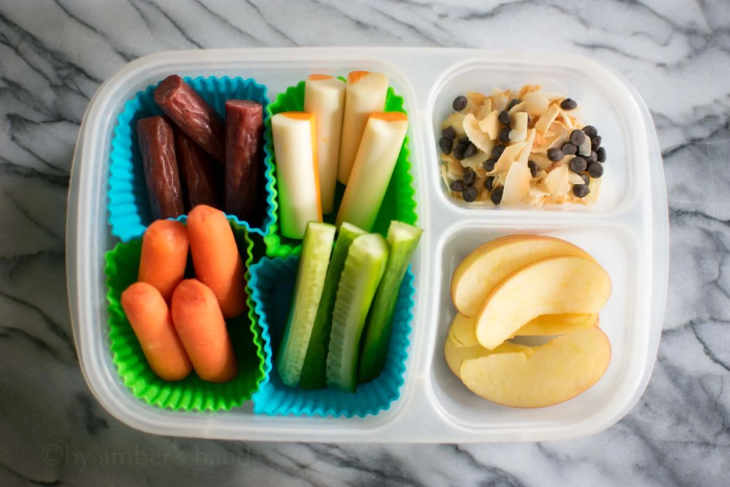 Healthy Lunch Box Ideas -by amber's hands-