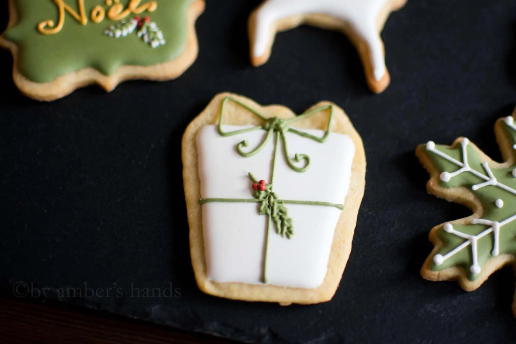 Simple Elegant Christmas Cookies -by amber's hands-