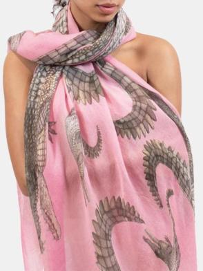 Krokodil shawl Simone Bruns