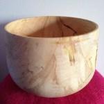 trædrejning woodturning træ stor skål