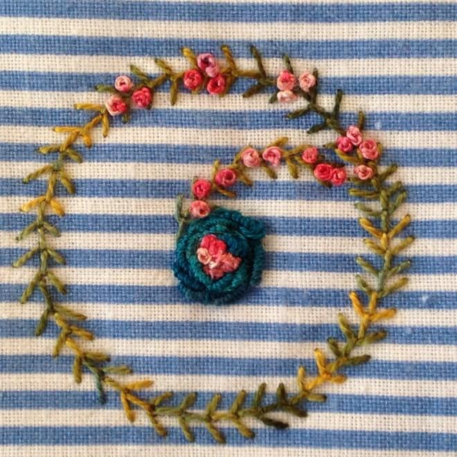 kursus broderi stitchery embroidery leg sting farver bomuld silke