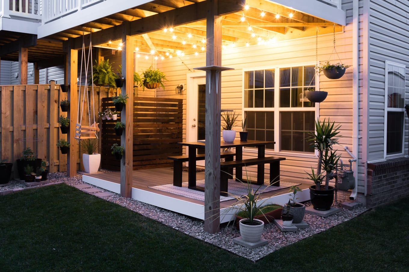 My Tiny Backyard // Modern Design Ideas for a Small Backyard on Modern Landscaping Ideas For Small Backyards  id=81520