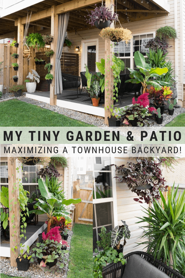 Small Townhouse Patio Ideas and My Gorgeous Tiny Backyard! on Townhouse Patio Ideas  id=98833