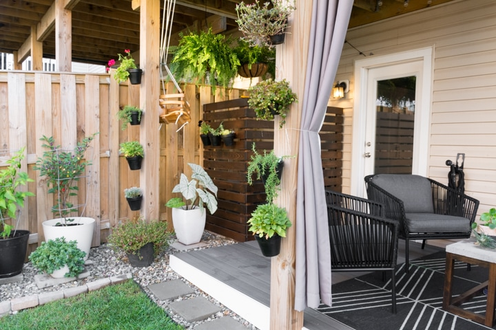 Small Townhouse Patio Ideas and My Gorgeous Tiny Backyard! on Townhouse Patio Ideas  id=21078
