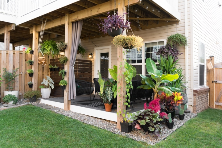 Small Townhouse Patio Ideas and My Gorgeous Tiny Backyard! on My Patio Design  id=59620