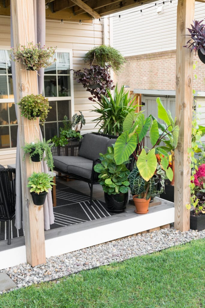 Small Townhouse Patio Ideas and My Gorgeous Tiny Backyard! on Townhouse Patio Ideas  id=39240