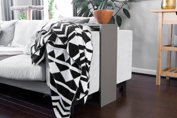 c shaped side table build plans sofa