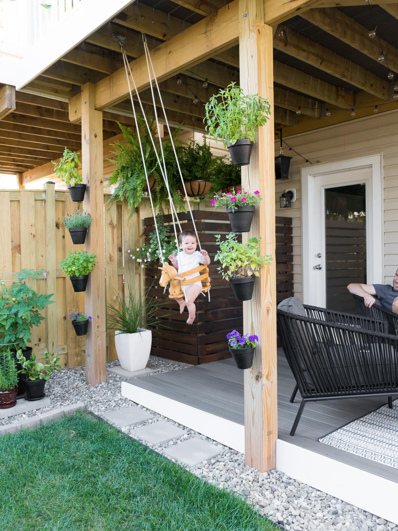 Tiny Backyard Ideas & An Update on My Tiny Backyard & Garden on Townhouse Patio Ideas id=93336
