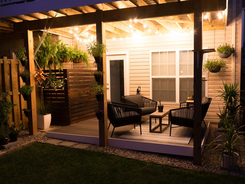 Tiny Backyard Ideas & An Update on My Tiny Backyard & Garden on My Patio Design  id=14701