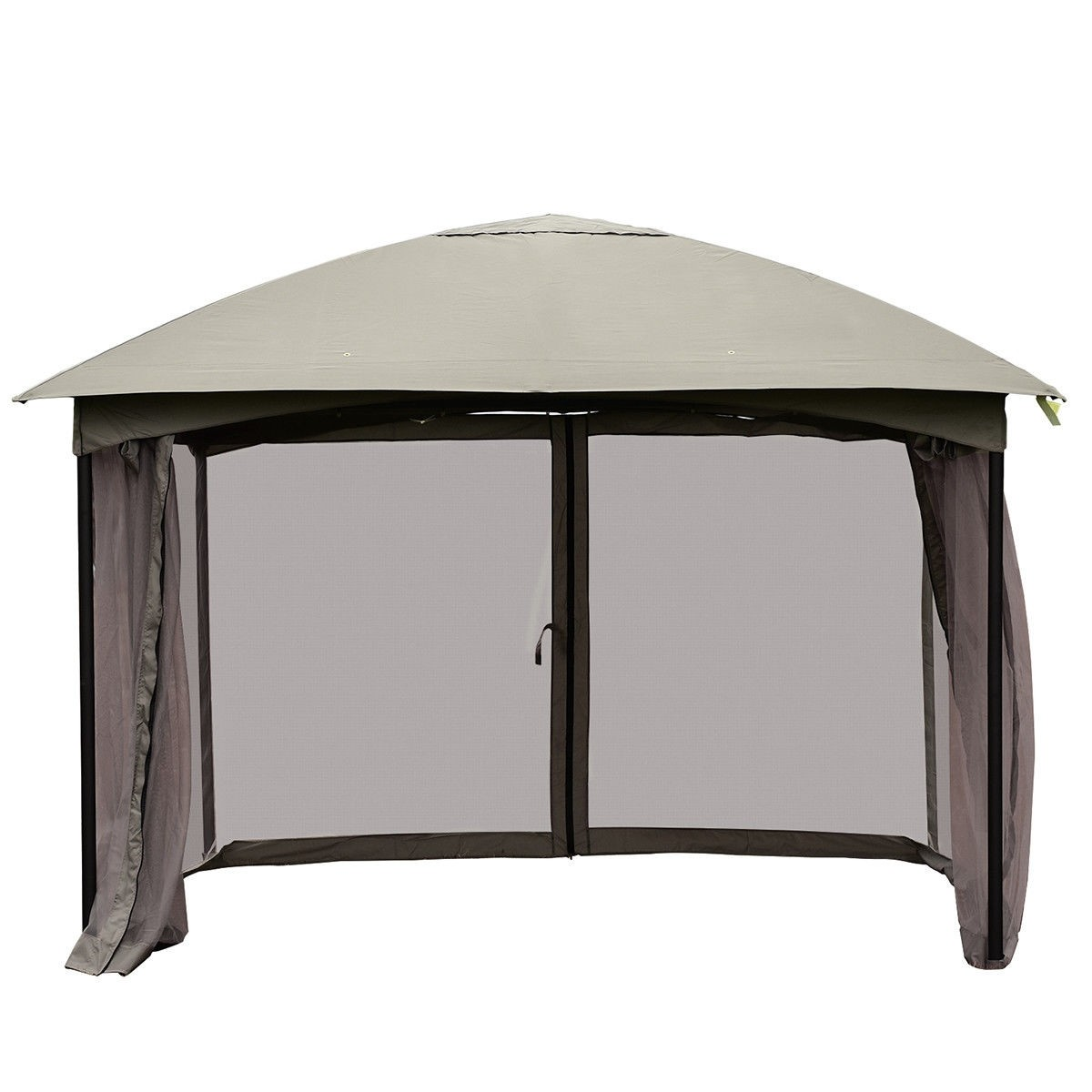 Charmant 11.5FT Patio Gazebo Canopy Tent Wedding Party Awning Mosquito Netting