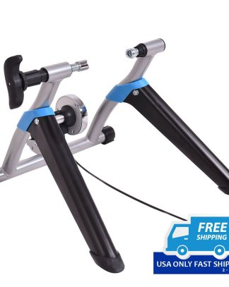 8 Levels Stationary Exercise Bicycle Trainer Stand