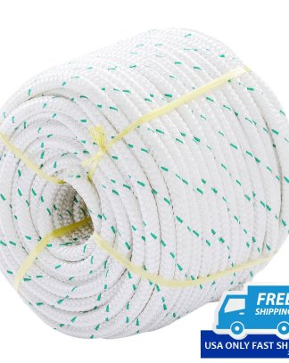 """NEW 3/7"""" x 150' Double Braid Polyester Rope Sling 5900Lbs BREAKING STRENGTH"""