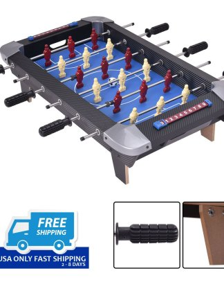 """Miniature 28"""" Table Foosball Football Soccer Game Competition Sports Indoor"""