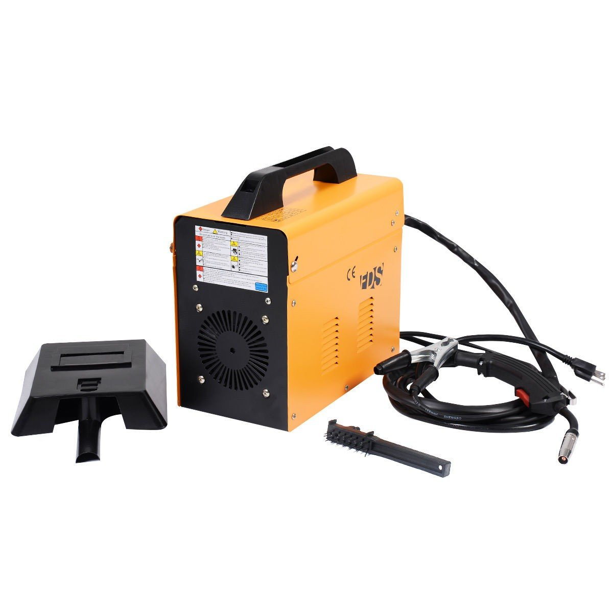 Yellow MIG 130 Welder Flux Core Wire Automatic Feed Welding Machine ...
