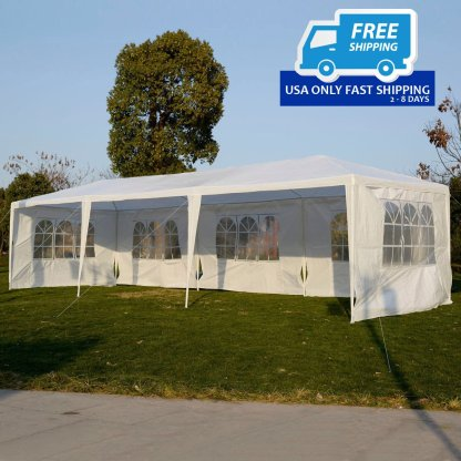 10' x 30' Outdoor Canopy Party Wedding Tent