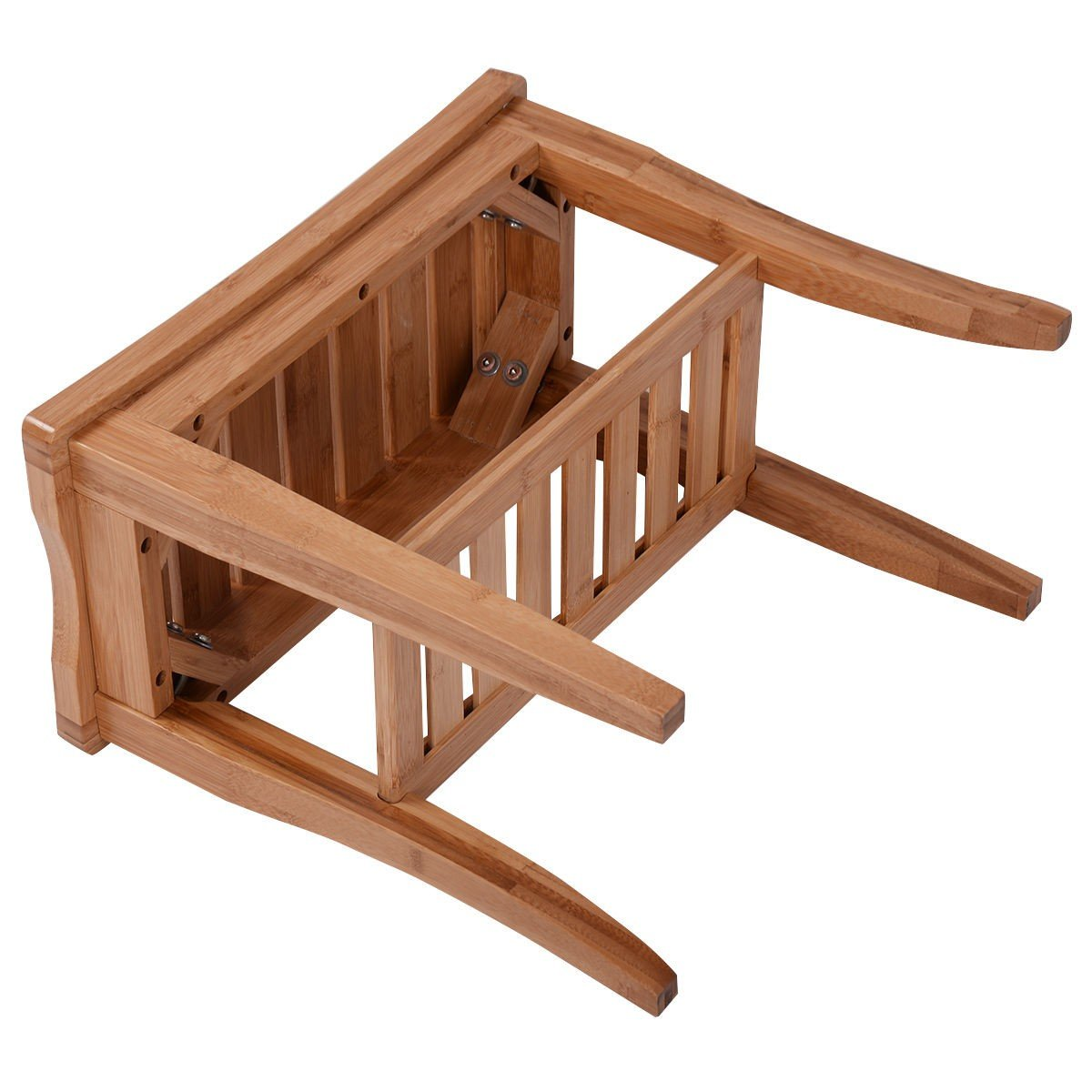 Bamboo Bathroom Shower Bench with Storage Shelf – By Choice Products