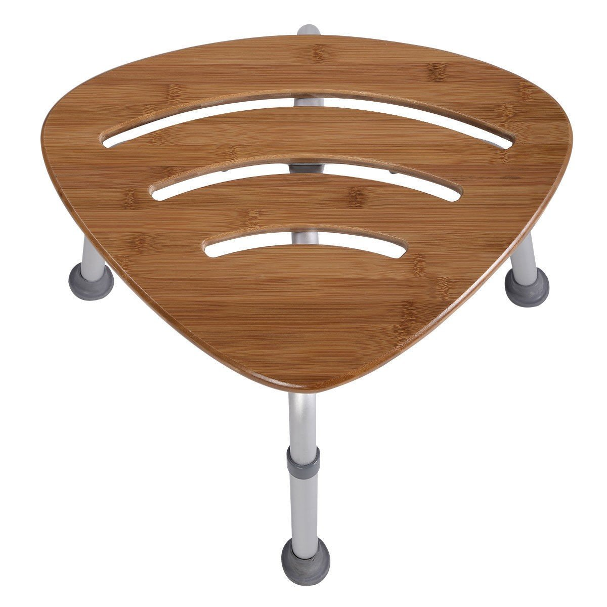 Fanshaped Bamboo Bath Seat Shower Chair – By Choice Products