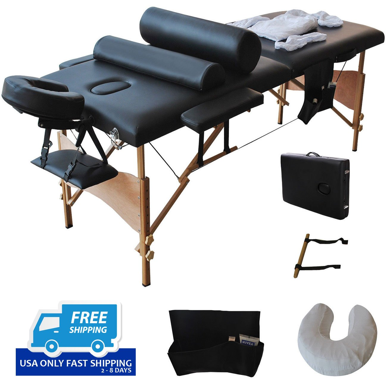 portable weight light massage folding snap copy serenity seasons bed product table f