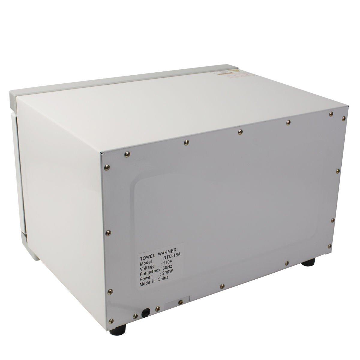 towel warmer cabinet. 2 In 1 Hot Towel Warmer Cabinet 16L Spa Beauty Salon Equipment UV Sterilizer F