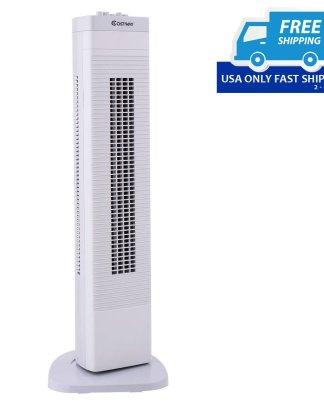 """30"""" 3-Speed Portable Tower Fan"""