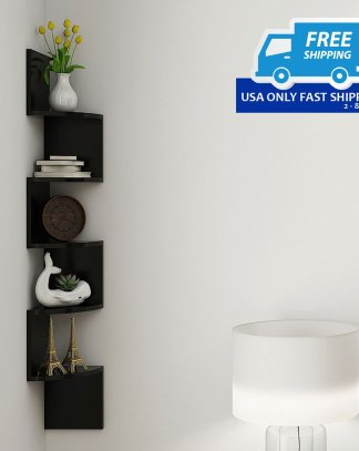 5 Tiers Wall Mount Wall Shelf