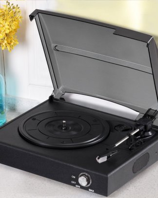 RCA Output Turntable Belt Drive Stereo Record Player