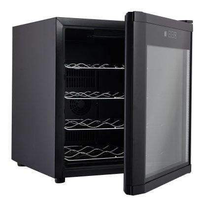 16 Bottles Wine Cooler Fridge Cellar Storage Holder Chiller Bar Rack Cabinet