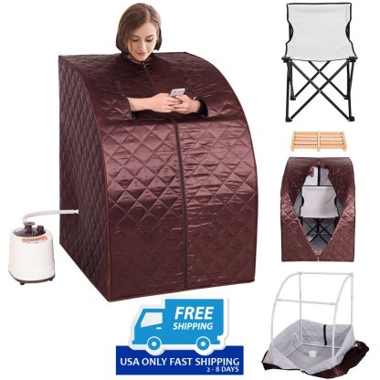 Portable 2L Steam Sauna with Chair