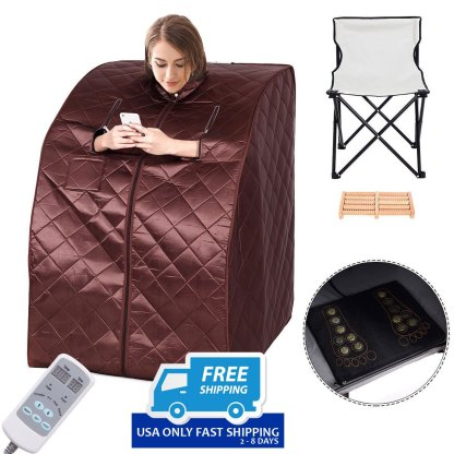 Portable Far Infrared Sauna with Chair