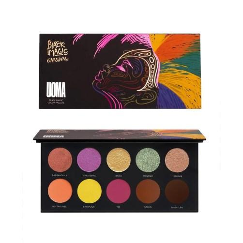 Uoma Beauty Black Magic Carnival Colour Palette