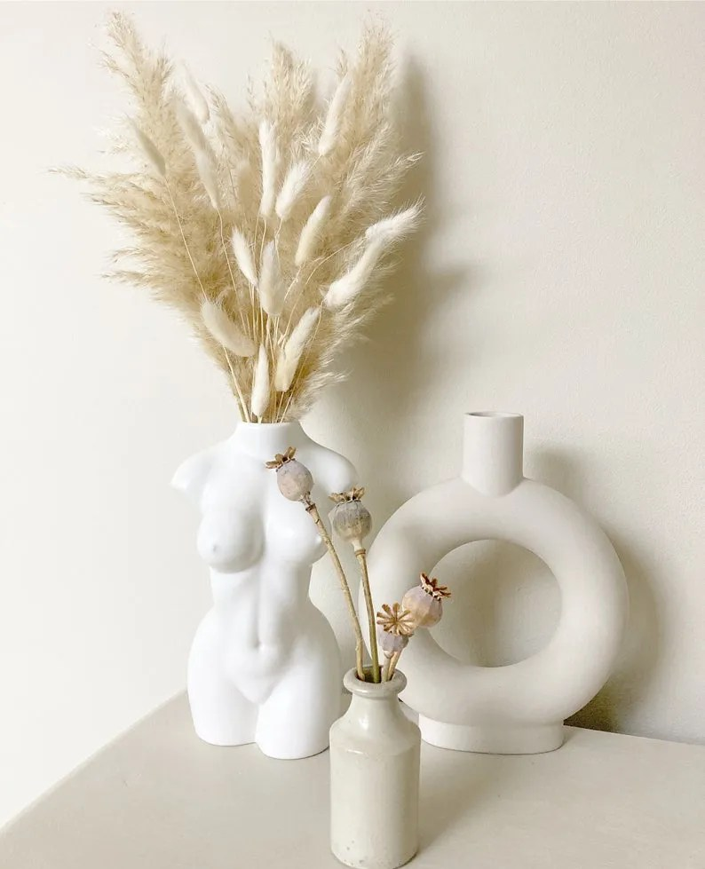 NorfolkPampas Pampas and Bunnies bouquet